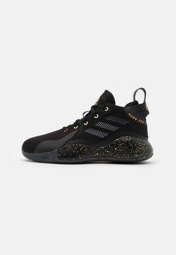adidas Performance - ROSE BOUNCE SPORTS BASKETBALL SHOES UNISEX - Basketbalschoenen - black