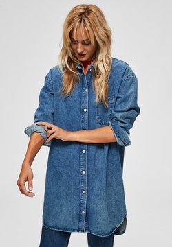 Selected Femme - Hemdbluse - medium blue denim