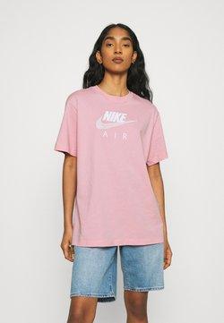 Nike Sportswear - AIR - T-Shirt print - pink glaze/white