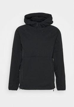 Nike Golf - REPEL ANORAK  - Regenjacke / wasserabweisende Jacke - black