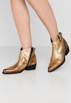 Felmini - TEXANA - Ankle Boot - metal gold