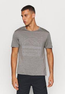 Houdini - ACTIVIST MESSAGE TEE - T-Shirt print - soft grey