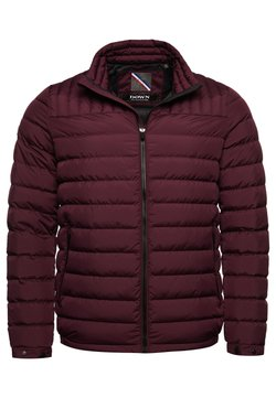 Superdry - Daunenjacke - rich deep burgundy