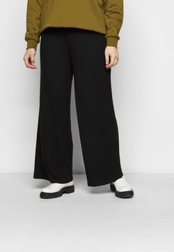 Simply Be - SUPERSOFT WIDELEG TROUSERS - Jogginghose - black