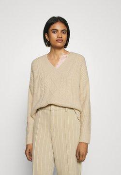 EDITED - SELINA JUMPER - Sweter - beige