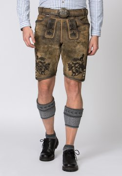 Stockerpoint - HARTL - Lederhose - brown