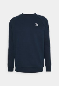 adidas Originals - 3-STRIPES CREWNECK SWEATSHIRT - Sweatshirt - conavy
