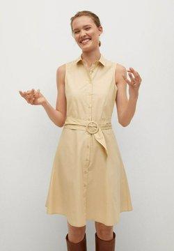 Mango - CRIS-H - Vestido camisero - beige