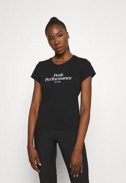 Peak Performance - ORIGINAL TEE - T-Shirt print - black