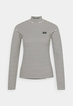 Scotch & Soda - MINI BRETON STRIPE LONGSLEEVE  - Langarmshirt - white/black