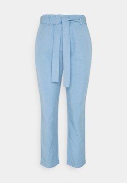 Marc O'Polo - WOVEN PANTS - Spodnie materiałowe - washed cornflower