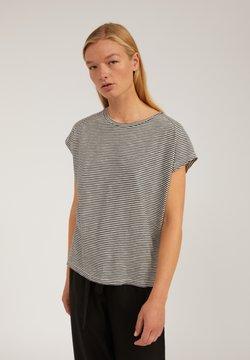 ARMEDANGELS - OFELIAA PRETTY - T-Shirt print - black-oatmilk