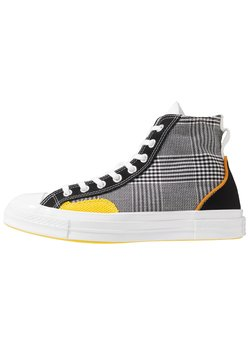 Converse - CHUCK TAYLOR ALL STAR - Baskets montantes - black/white/speed yellow