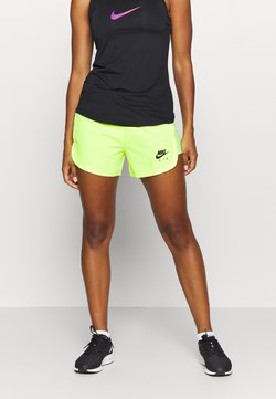 Nike Performance - AIR SHORT - Pantalón corto de deporte - volt/volt/black