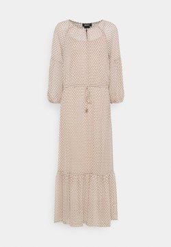DKNY - PEASANT DRESS - Maxikleid - brown