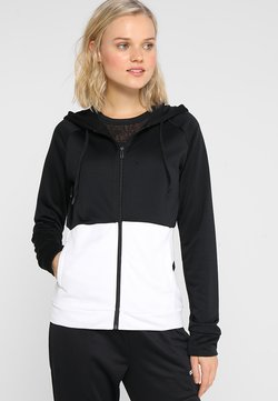 adidas Performance - LIN HOOD SET - veste en sweat zippée - black/white