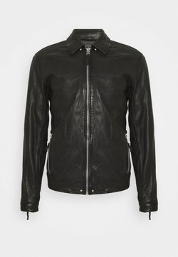 Gabba - PHIRE CRAN - Leather jacket - black