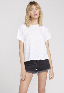 Volcom - BURNY - T-Shirt basic - white