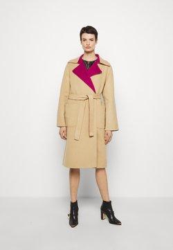 Alberta Ferretti - Classic coat - pink/beige