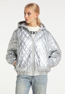 myMo - Winterjacke - silber
