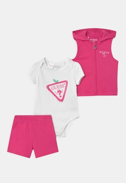 Guess - SET  - Weste - jealous pink