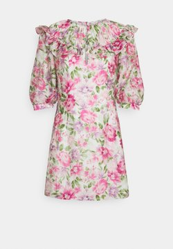 Forever New - DENISE RUFFLE DRESS - Korte jurk - belladonna bloom