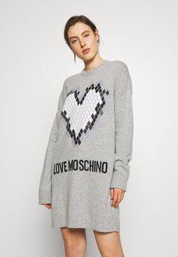 Love Moschino - Vestido de punto - grey