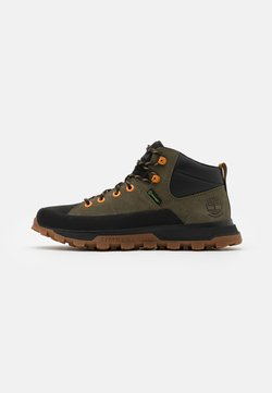 Timberland - TREELINE MID WP - Sneaker high - dark green
