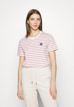 Wood Wood - MIA  - T-Shirt print - white/rose