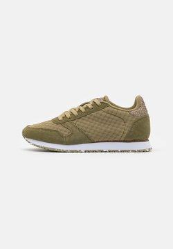 Woden - YDUN SUEDE MESH II - Sneakers laag - lizard green