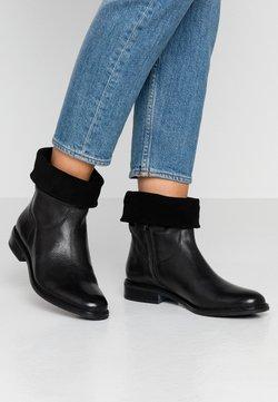 Anna Field - LEATHER CLASSIC ANKLE BOOTS - Stövletter - black