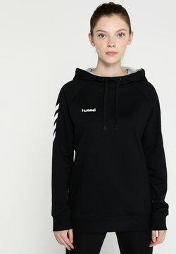 Hummel - HOODIE WOMAN - Huppari - black