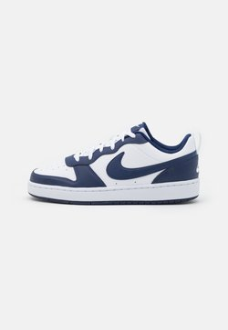 Nike Sportswear - COURT BOROUGH UNISEX - Sneakers - white/blue void/signal blue