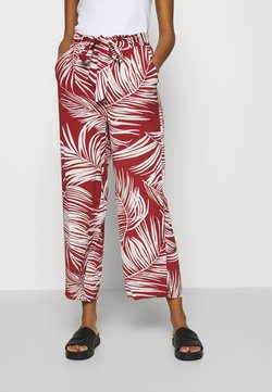 ONLY - Trousers - burnt henna/palm leaf