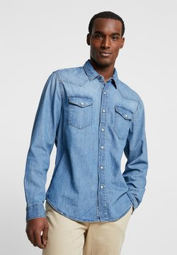 GAP - NEW WESTERN - Camicia - medium authentic indigo