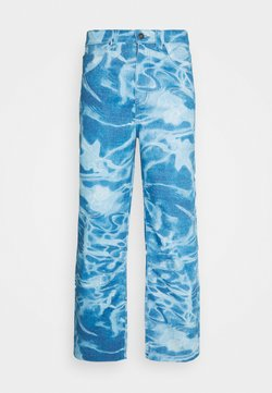 Jaded London - SWIMMING POOL SKATE - Jeans Relaxed Fit - blue