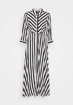 YAS Petite - YASSAVANNA DRESS - Vestido largo - black/savanna