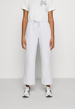 Monki - KAJSA TROUSERS - Jogginghose - grey melange