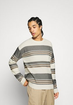 Jack & Jones - JORJACKSON KNIT CREW NECK/BOX FIT - Jumper - peyote