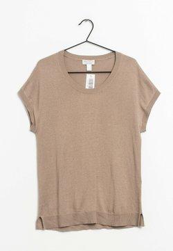 PETER HAHN - T-Shirt basic - beige