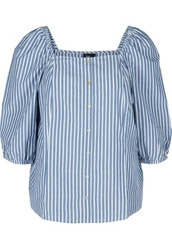 Zizzi - Bluse - bijou blue stripe