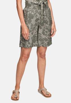 s.Oliver - Shorts - summer khaki aop
