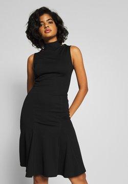 Lost Ink - SLEEVELESS FISHTAIL BODYCON DRESS - Vestido ligero - black
