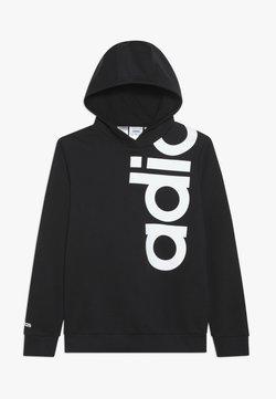 adidas Performance - LOGO - Luvtröja - black/white