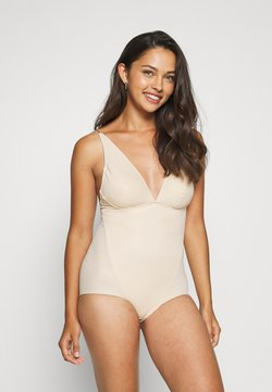 Maidenform - EASY GLIDE ON AND OFF LOW BACK COOL COMFORT - Swimsuit - nude