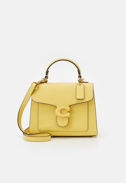 Coach - COVERED CLOSURE TABBY TOP HANDLE - Handtasche - retro yellow