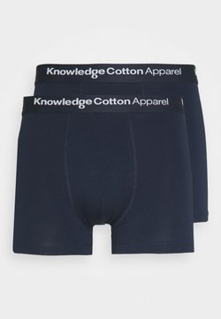 Knowledge Cotton Apparel - MAPLE UNDERWEAR 2 PACK - Shorty - total eclipse