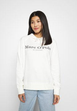 Marc O'Polo - RAGLAN SLEEVE HOODED - Kapuzenpullover - off white