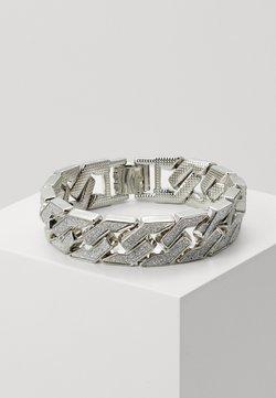 Urban Classics - GLITTER BRACELET - Bracelet - silver-coloured