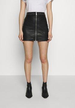 AllSaints - LUNA STUDDED SKIRT - Mini skirt - black